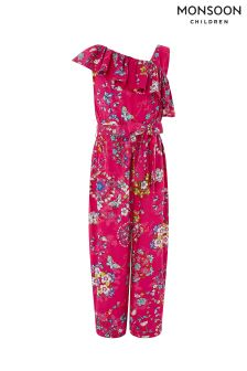 Monsoon Red Hachi Jumpsuit
