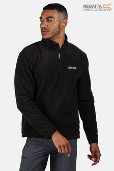 Regatta zwarte Thompson fleece met korte rits