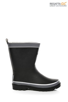 Regatta Black Foxfire Welly