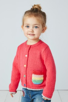Patch Pocket Cardigan (3mths-7yrs)