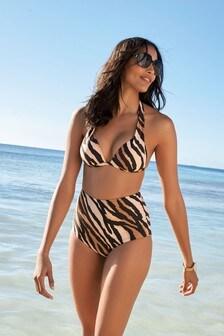 High Waist Bikini Briefs