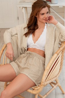 Linen Rich Lounge Shorts