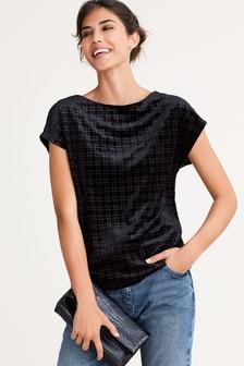 Sparkle Velvet T-Shirt