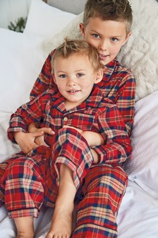 Check Button Through Pyjamas (9mths-12yrs)