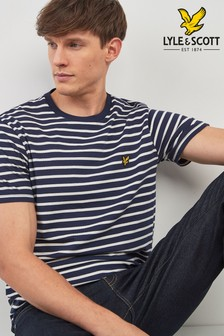 T-shirt Lyle & Scott à rayures marines