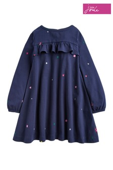 Joules Blue Soft Jersey Dress