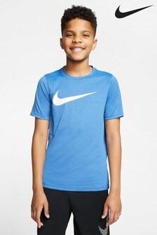 Nike Dri-FIT Blue T-Shirt