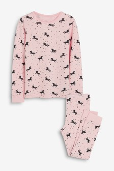 Unicorn Printed Snuggle Thermal Set (1.5-12yrs)