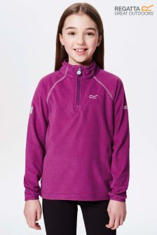 Regatta Purple Loco Half Zip Jacket