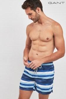 GANT Sunfaded Stripes Classic Fit Swim Shorts