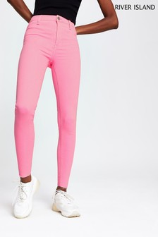River Island Neon Pink Molly Jean