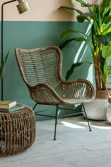 Rattan Lounger By Hudson Living
