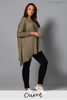 Live Unlimited Asymmetric Poncho Top