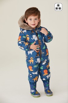 All Over Print Snowsuit (3mths-7yrs)