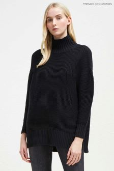 French Connection Black Mozart Jumper