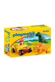 Playmobil® 1.2.3 Explorer With Dinos