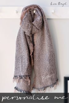 Personalised Sparkle Scarf by Lisa Angel