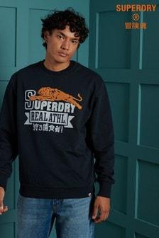Superdry Varsity 24 Oversized Crew Sweatshirt