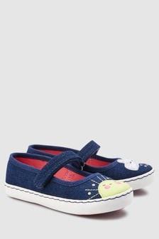 נעלי בובה שטוחות (צעירים)