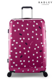 Radley Vintage Dog Dot Large Suitcase