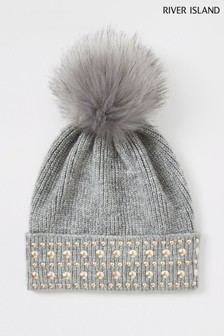 510fb3af0 Womens Beanie Hats | Grey & Black Hats For Womens | Next UK