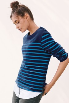 Stripe Layer Top