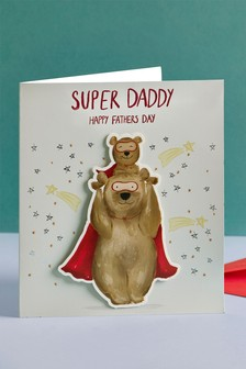 Super Daddy Father's Day Card