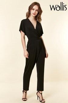 Wallis Petite Black Jumpsuit