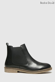 Red Or Dead Rod Rachael Leather Chelsea Boots