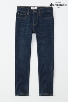 Abercrombie & Fitch Skinny-Jeans, dunkle Waschung