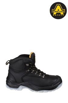 Amblers Safety Black FS199 Antistatic Lace-Up Hiker Safety Boots