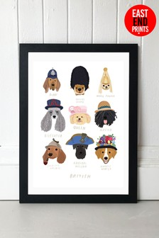 British Dogs Framed Print by Hanna Melin