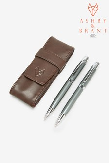 Ashby & Brant Pen Holder And Pen Set