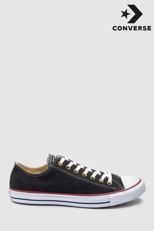 Converse Black/White Washed Chuck Low Trainer
