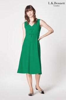 L.K.Bennett Green Willow Dress