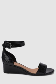 932ba5dcef494 Black Sandals | Ladies Black Strappy & Leather Sandals | Next