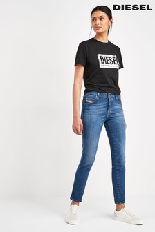 f1adef739d4ac7 Womens Slim Fit Jeans | Slim Fit Black & Blue Jeans | Next Ireland
