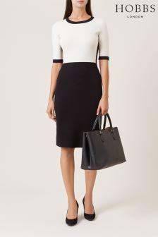 Hobbs Ivory Black Eden Dress
