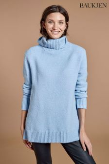 Baukjen Blue Erica Roll Neck