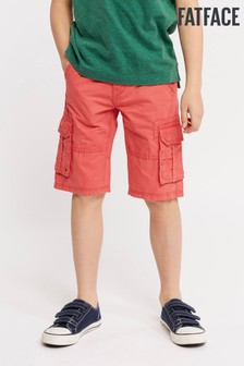 FatFace Red Lulworth Cargo Short