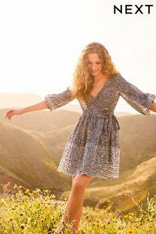 Savannah Miller Embroidery Short Dress