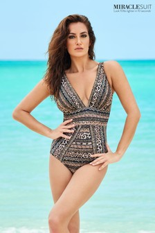 Miraclesuit Odyssey Badeanzug mit Leopardenmuster