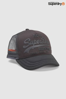 Superdry Black Camo Cap