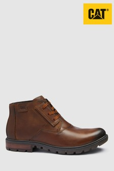 CAT Brown Stats Smart Ankle Boot