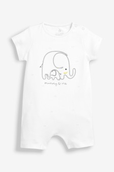Mummy & Me Elephant Romper (0mths-2yrs)