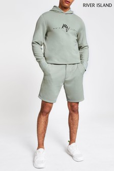 River Island Mint Dandy Tailored Short
