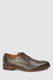 Фактурные туфли дерби