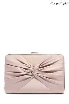 Phase Eight Latte Kendall Clutch