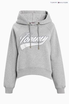 Tommy Hilfiger Grey Carrie Logo Hoody