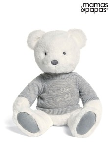 Welcome To The World Soft Toy Teddy Bear By Mamas & Papas